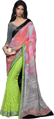 RCPC Printed Fashion Georgette Sari