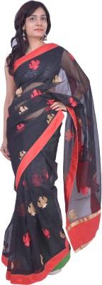 Thakurani Self Design Fashion Handloom Net Sari