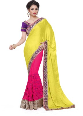 BW Embriodered Bollywood Georgette Sari
