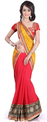 Naresh Sarees Embriodered Daily Wear Handloom Jacquard Sari