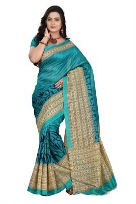 V-Karan Printed Fashion Silk Sari