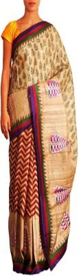 Unnati Silks Printed Bollywood Tussar Silk Sari