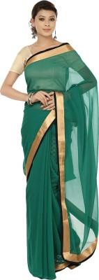 Sri Sai Vastra Solid Bollywood Silk Sari