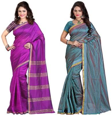 Ethnic And Style Plain Bollywood Silk Sari