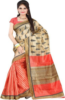Sunita Sarees Striped Fashion Art Silk Sari