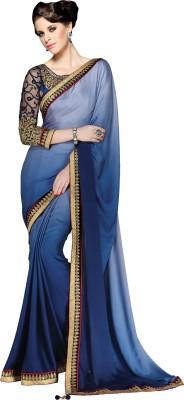 Crafts N Culture Self Design Fashion Crepe Sari