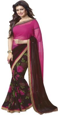 jaygatrad Printed Daily Wear Georgette Sari