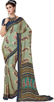 Sushma Printed Fashion Crepe Sari
