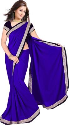 Mahadevi Solid Bollywood Chiffon Sari