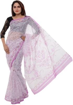 Samadhi Sarees Floral Print Coimbatore Cotton Sari