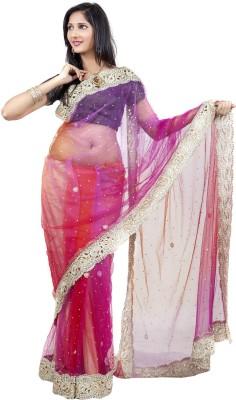 Celebez Self Design Fashion Handloom Net Sari