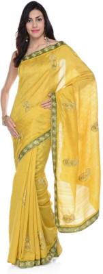 Aarohii Embriodered Bollywood Dupion Silk Sari