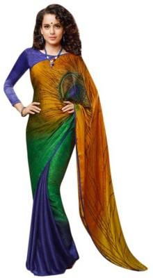 Tejaswini Self Design Bollywood Art Silk Sari