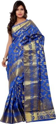 Varkala Silk Sarees Woven Kanjivaram Handloom Tussar Silk Sari