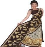 Saloni Printed Daily Wear Synthetic Sare...
