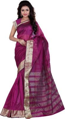 Indi Wardrobe Woven Maheshwari Silk Sari