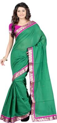 Budget Vastra Printed Fashion Cotton Sari