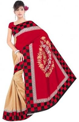 JEEVIKRISH CREATIONS Self Design Bhagalpuri Cotton Sari