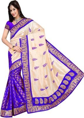 Nyalkaran Self Design Fashion Silk Sari