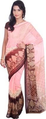 Arisidh Printed Bollywood Chiffon Sari