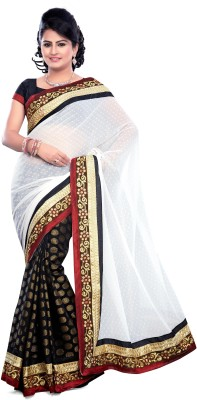 Khusi Fashion Printed Fashion Chiffon Sari