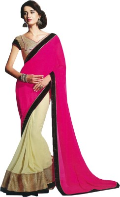 Dheena Plain Fashion Net Sari