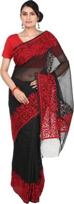 Kolkata Fashions Embriodered Coimbatore Cotton Sari