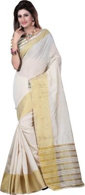 Laxmi Sarees Plain Fashion Cotton Sari