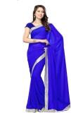 SRK Self Design Bollywood Georgette Sare...