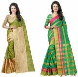 Pari Designer Self Design Fashion Cotton...