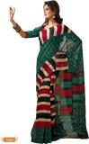 Hi-Choice Striped Daily Wear Art Silk Sa...