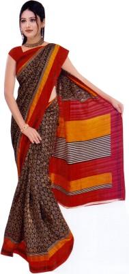 Raj Creative Printed Bhagalpuri Silk Sari