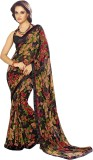 Sushma Printed Daily Wear Georgette Sare...