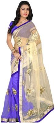 Hari Krishna Enterprise Embriodered Fashion Net Sari