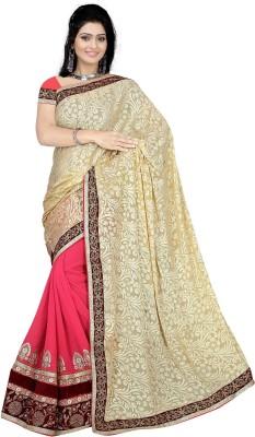 Khodiyar Creation Embriodered Fashion Pure Georgette Sari