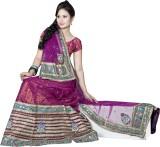 Asha Fashion Embroidered Fashion Net Sar...