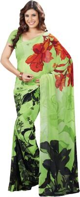 MySarees Printed Daily Wear Georgette Sari