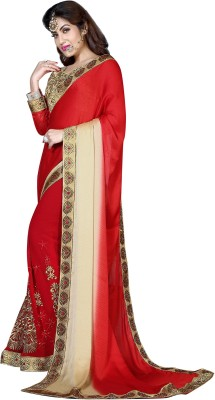 Shaily Embriodered Bollywood Georgette Sari
