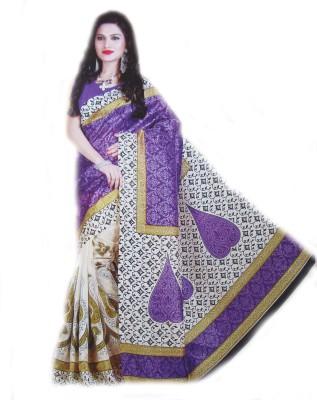 Geetanjali Printed Bhagalpuri Art Silk Sari