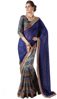 Areum Printed Bollywood Georgette Sari