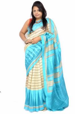 Gulmohaar Printed Bollywood Silk Sari