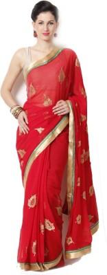 Neeta Creation Printed Fashion Georgette Sari