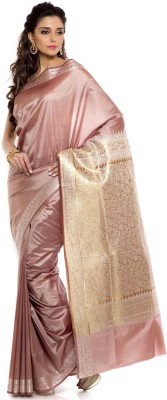 Sudarshan Silks Self Design Daily Wear Handloom Silk Sari