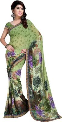 Suitsvilla Self Design Daily Wear Georgette Sari
