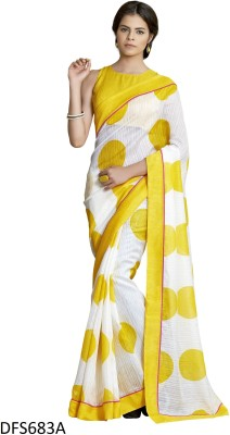 Firstloot Printed Fashion Linen Sari
