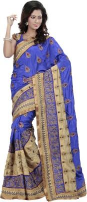 Ambition Embriodered Bollywood Silk Sari