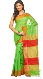Slice Of Bengal Plain Tant Silk Cotton B...