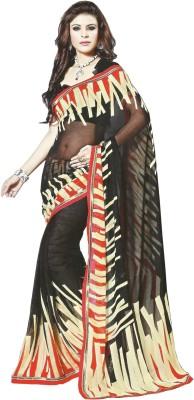 wingsenterprises Printed Bollywood Georgette Sari
