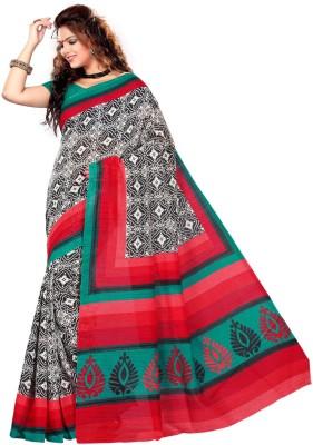 Sangam Saree Printed Bhagalpuri Polycotton Sari