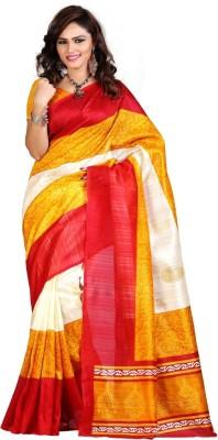 Chhaya Creation Printed Bhagalpuri Art Silk Sari
